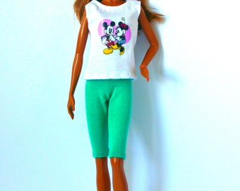 Barbie clothes - Barbie shirt & Barbie pants