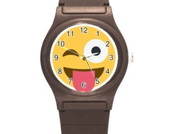 Customize your watch kids wristwatch emojis watches add your name Personalized it