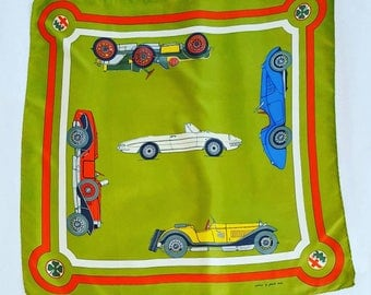 Achille Pinto / Como made in Italy vintage scarf