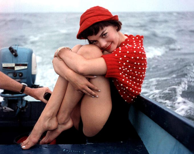 Actress Natalie Wood - 8X10 or 11X14 Publicity Photo (AB-165)