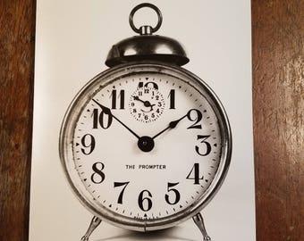 Vintage Clock Photo Lot 5x7 10 pack