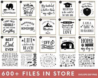 Access to All Files in Store - svg dxf png eps - silhouette  - cricut - cutting machine - SVG Bundle - Cut File Bundle - Clip Art Bundle