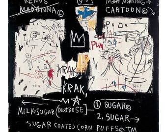Jean-Michel Basquiat Panel of Experts, 1982