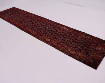 Beautiful Palace Size Nahavand Malayer Persian Runner Oriental Area Carpet 4X17