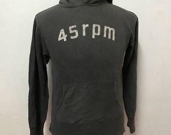 45 Rpm hoodies made in japan