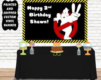 Ghostbusters Vinyl Banner