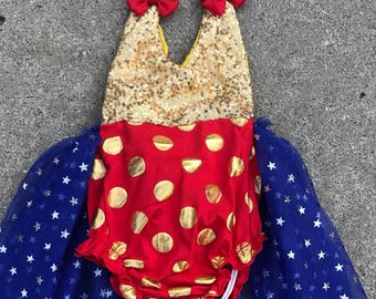 wonder woman outfit Wonder Woman first birthday outfit  Wonder Woman costume toddler Wonder Wom