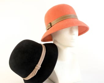 Ladies cloche hats