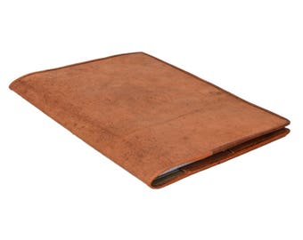 Gusti leather ' brenda ' leather book cover