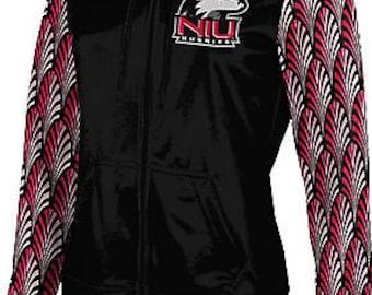 ProSphere Girls' Northern Illinois University Deco Fullzip Hoodie (NIU)