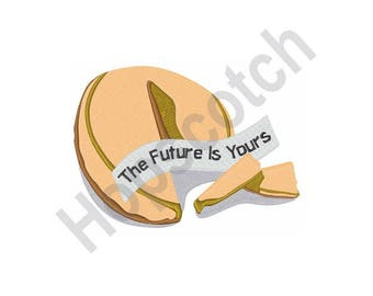 Chinese Fortune - Machine Embroidery Design, The Future Is Yours