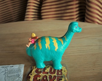 Club Cave Dino Bank Wendy's Kids' Meal Toy 1996