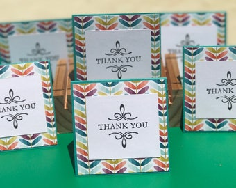 3x3 notecards,  Mini note cards, note cards, small note cards, mini thank you cards, mini cards, note cards