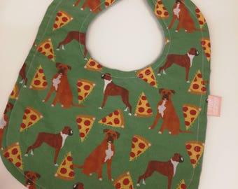 Boxer & Pizza Bib