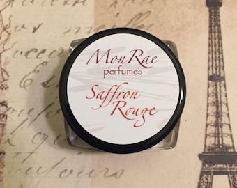 Saffron Rouge solid perfume