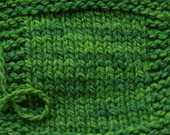 SHADED PINE  2 ply worsted weight kettle dyed wool yarn from our American farm