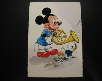 Original vintage map Walt Disney Productions Coloprint 1966 © ...