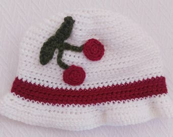 Cherry Jubilee a lighthearted cloche for fall