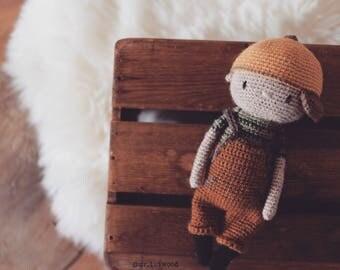 Little Lui Amigurumi pattern crochet Mr. Luiwood PDF