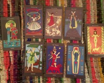 Goddess Tarot reading
