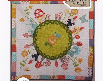 Rosie's Garden quilt pattern from Claire Turpin Designs, woodland quilt pattern