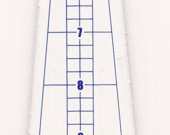"Phillips Fiber Art Ten Degree Mini Wedge   Makes 25"" circle, by Cheryl Phillips"