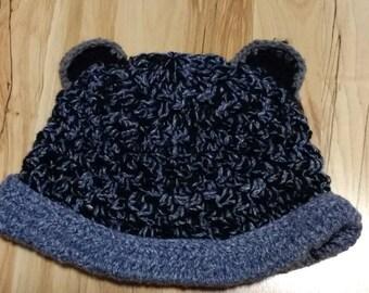 Super fun and comfortable adult/teen bear ears hat
