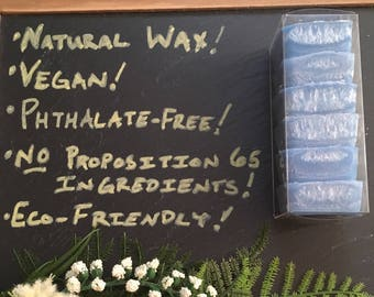 Wax Melts  - French Riviera - Natural Wax - Phthalate free and hand-blended scents - Highly Scented - No Proposition 65 Ingredients