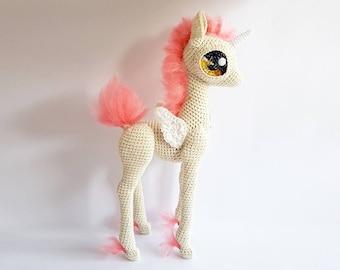 "Unicorn Doll | Nomadic Galaxy Pony: ""Firefly"""