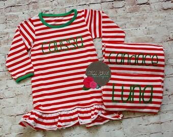 Christmas pajamas for children | Etsy