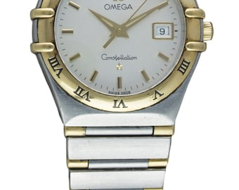 Ladies Omega Constellation bracelet watch