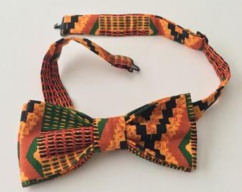 Kente Cloth Bow tie | Men's Bow tie |African Print