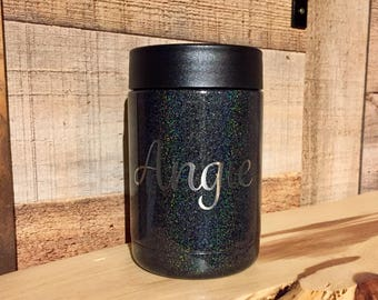 Powder Coated RTIC 12 oz. Can Cooler (4 Left!) - Stainless Steel Can Cooler - Engraved Can Cooler - RTIC Can