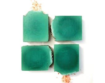 Coconut Pink Salt Organic, Cold Process, Vegan, Handmade Soap