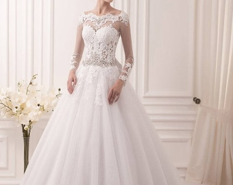 Wedding dress ''Monica'' from NYC Bride, made in Europe