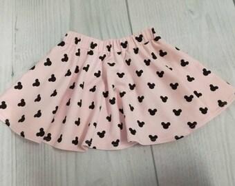 Baby Girl Summer Skirt, Girls Cotton Skirt, Little Girl Summer Skirt