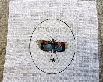 fabric sewing Butterfly colour in Medallion