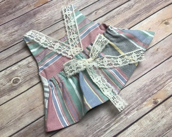 Girls size 2T Upcycled Shirt