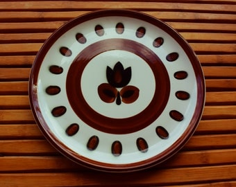 BOCH dish - Collection KIMONO RARE- Vintage - Belgian manufacture - pop decor - Year 1960