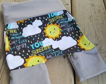 Grow with me shorts 6m-3yrs