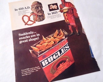 Vintage Bugles 1966 Magazine Ad