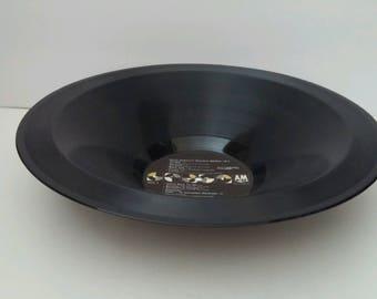 "Janet Jackson Recycled Smooth Vinyl Record Bowl ""Rhythm Nation 1814"""