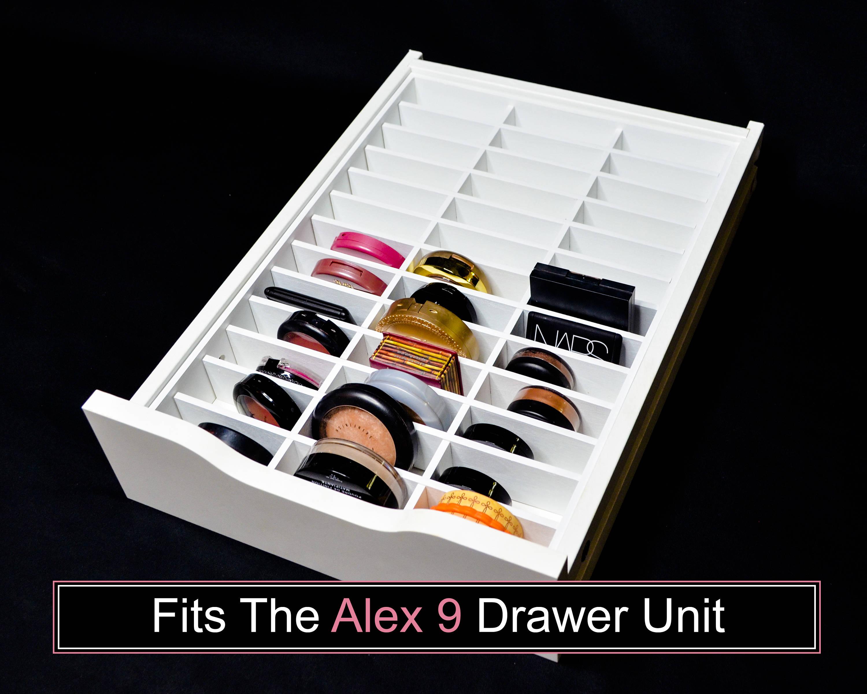 Compact Drawer Organizer Fits Alex 9 Drawer Unit Makeup