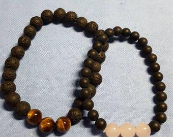 His & Her Chakra bracelets