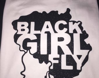 Black Girl Fly T-Shirt (African American)