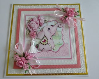 Beautiful Cute Birthday Card
