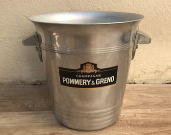 Vintage French Champagne French Ice Bucket Cooler Made in France POMMERY 2108173