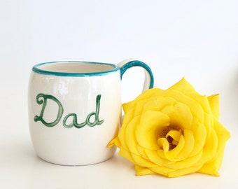Father's Day Handmade Ceramic Mug