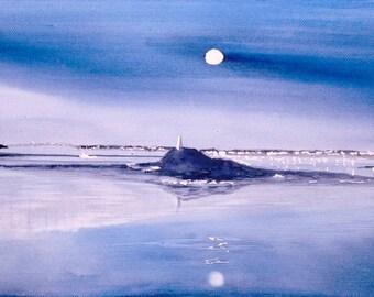 Night blue Kernoc Ile de Batz