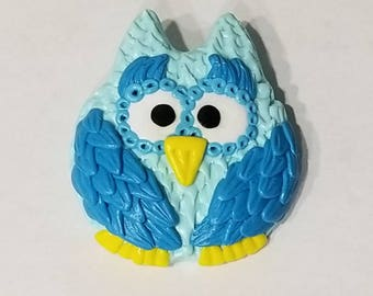 Owl Pin Brooch Teen Kids